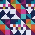 Geometryczny kolorowy wzór