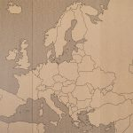 mapa europy 1