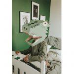 kartonowa maska dinozaura 3D koko cardboards
