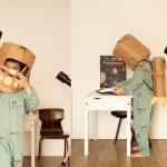 kartonowy stronauta koko cardboards zrob to sam