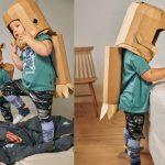 koko cardboards astronauta zrob to sam