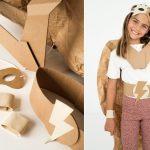 superbohater kostium koko cardboards zrob to sam