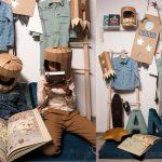 tekturowy astronauta koko cardboards zrob to sam